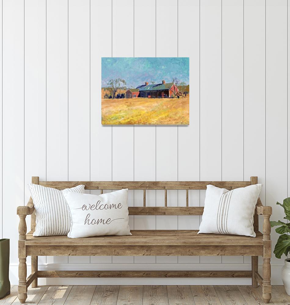 """New England Barn, by RD Riccoboni""  (2007) by RDRiccoboni"