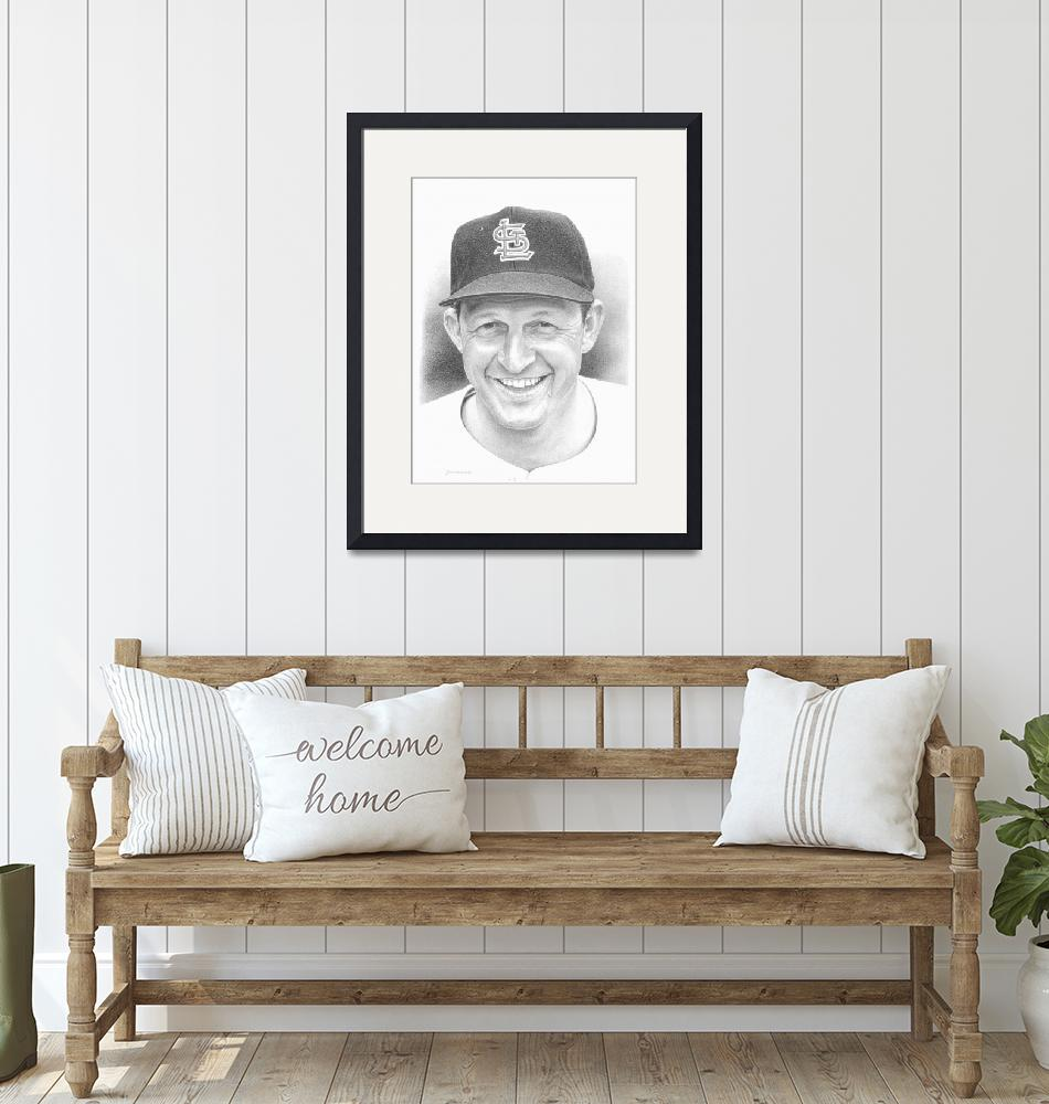 """""""Stan Musial""""  (2010) by JHancock"""