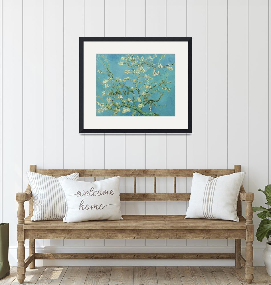 """""""Almond Blossom by Vincent Van Gogh (1890)""""  by ArtHistory"""