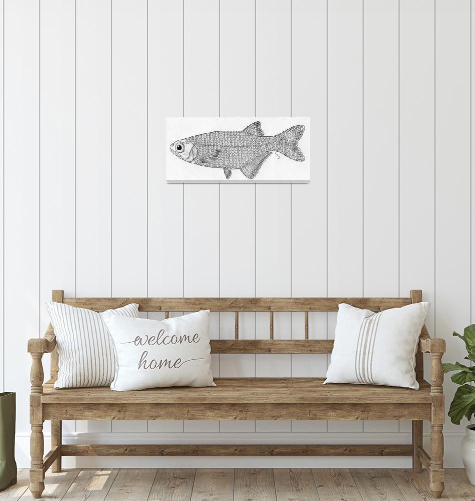 """""""Goldeye fish""""  by lanakoepkejohnson"""