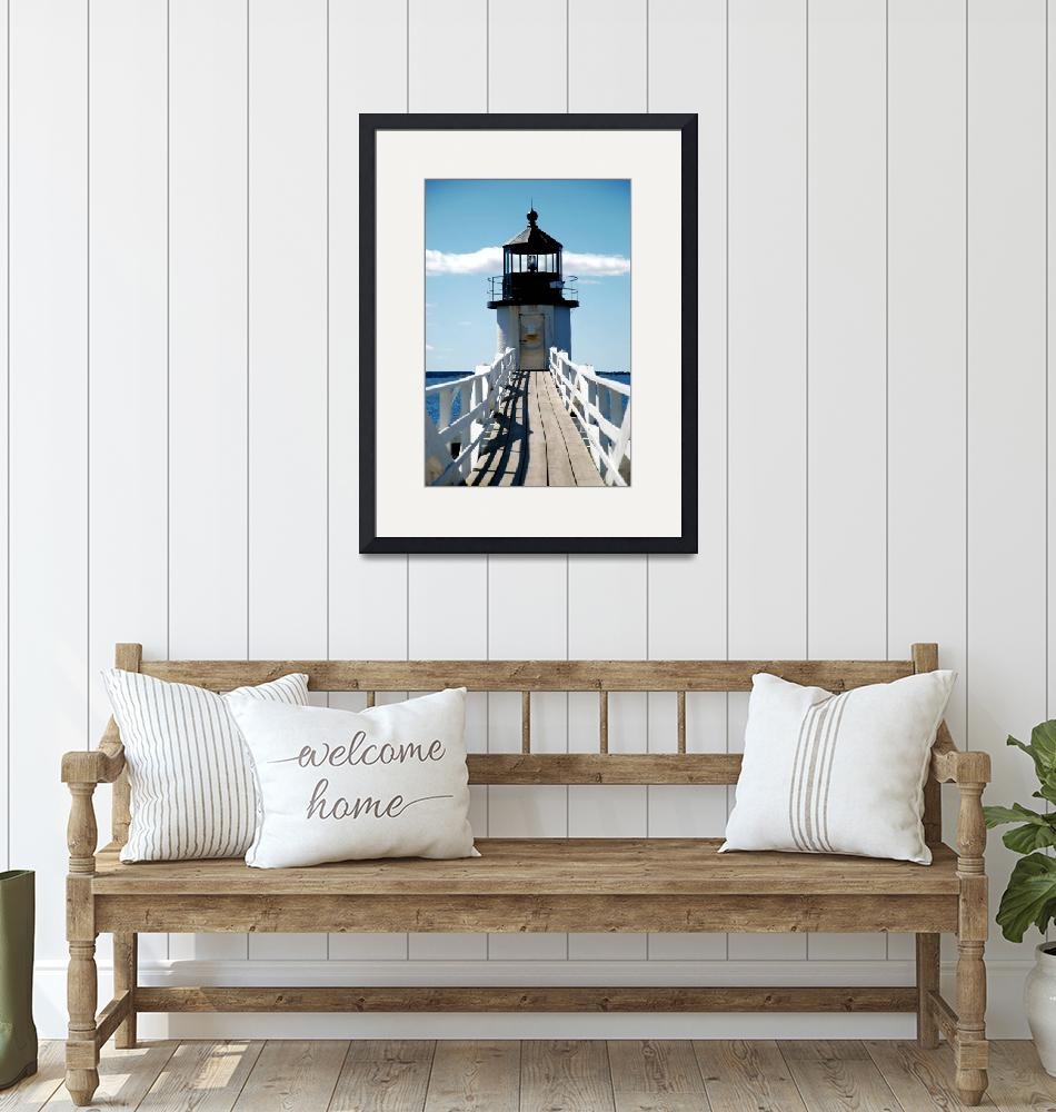 """""""Marshall Point Lighthouse""""  by doncon402"""
