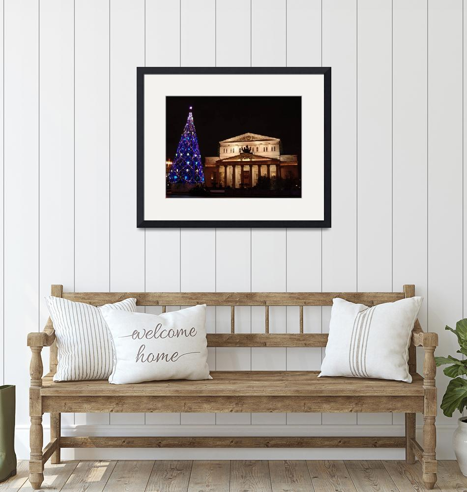 """""""Bolshoi Theater Christmas Time""""  by Wetmore"""