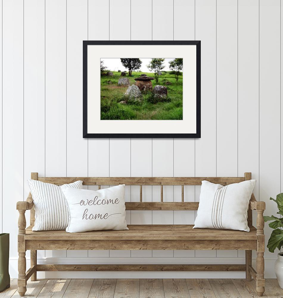 """""""Plain of Jars, Laos""""  by snaptherapy"""