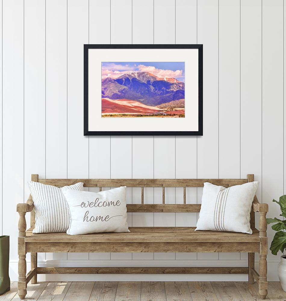 """""""The Great Sand Dunes in Color""""  (2010) by lightningman"""