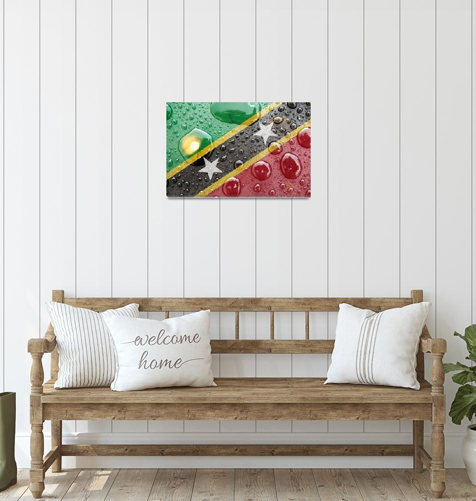 """Saint Kitts and Nevis""  (2014) by thegriffinpassant"
