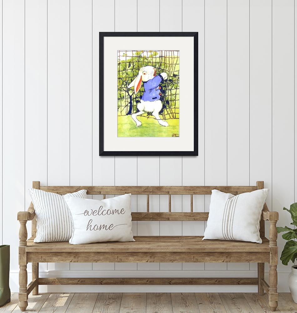 """""""CLASSIC PETER RABBIT ILLUSTRATION""""  (1916) by homegear"""