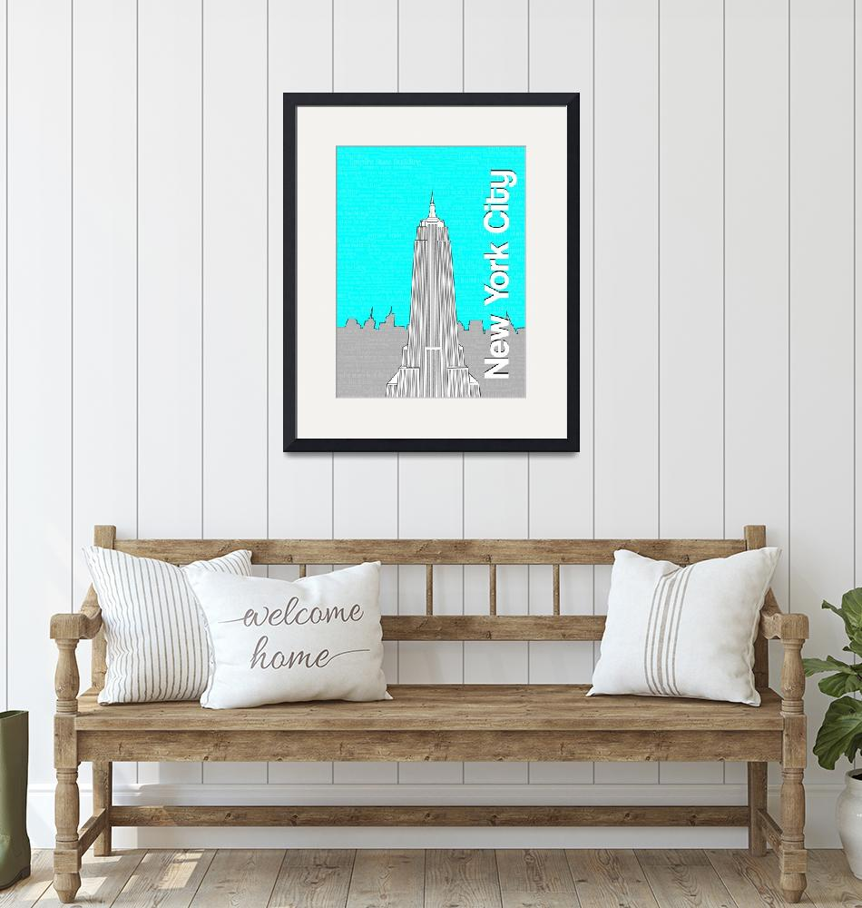 """""""Empire State Building""""  by schorno"""
