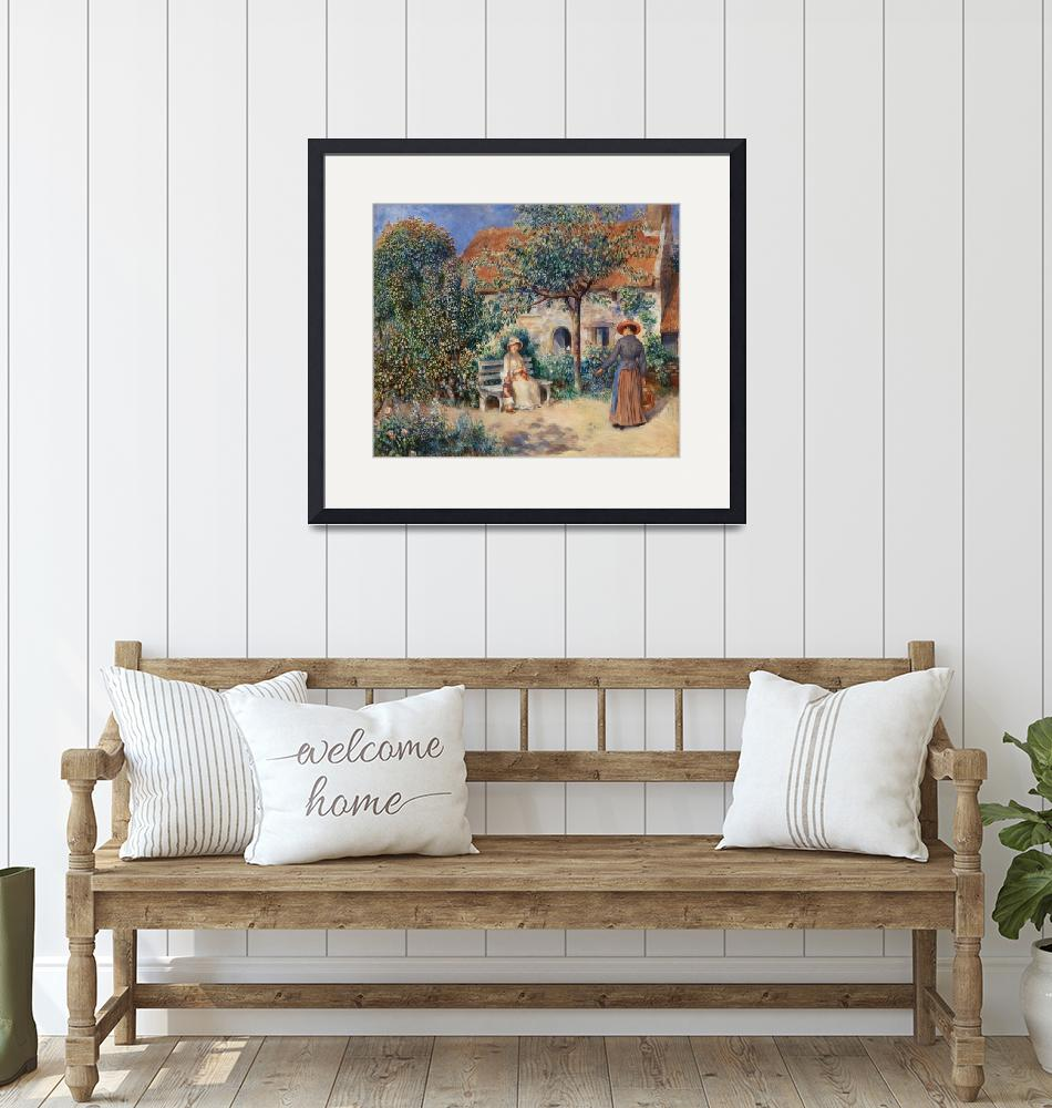 """""""In Brittany by Renoir""""  by FineArtClassics"""