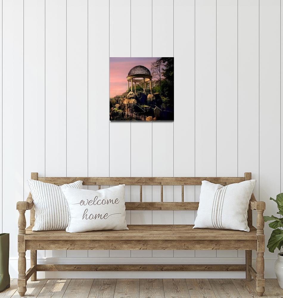 """Sunrise Temple""  (2016) by JessicaJenney"