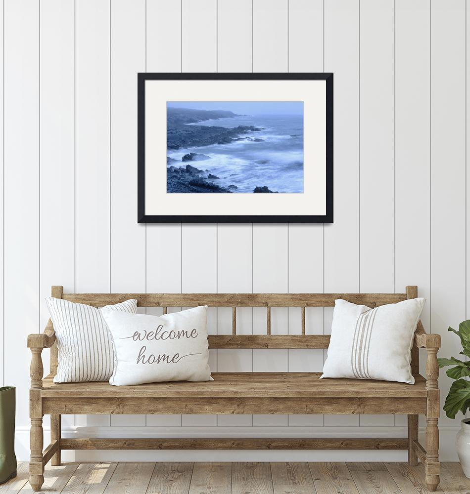 """Waves In Trepassey Bay, Portugal Cove South, Avalo""  by DesignPics"