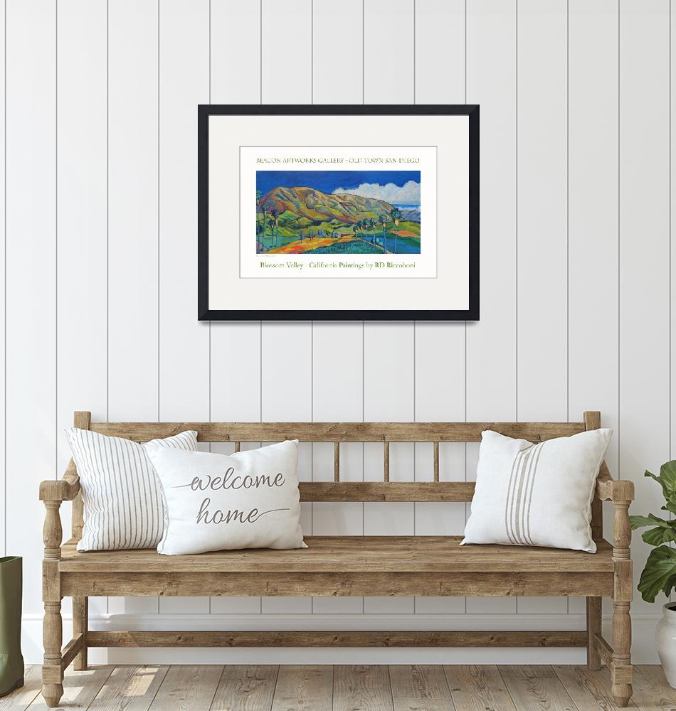 """Blossom Valley Beacon Artworks Poster""  by RDRiccoboni"