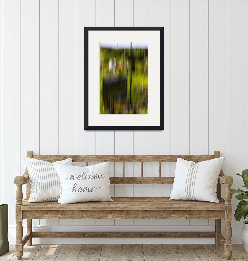 """""""Art in the Garden""""  (2009) by Impressionistfineartphoto"""