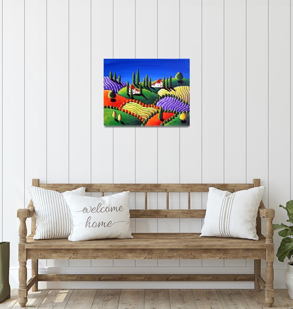 """""""Tuscan Scene""""  by reniebritenbucher"""