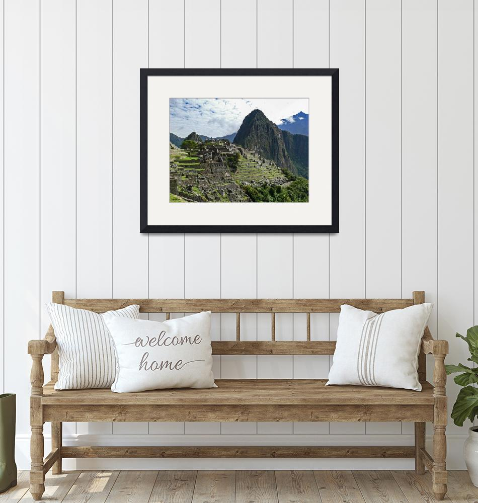 """Machu Picchu""  (2007) by awsheffield"