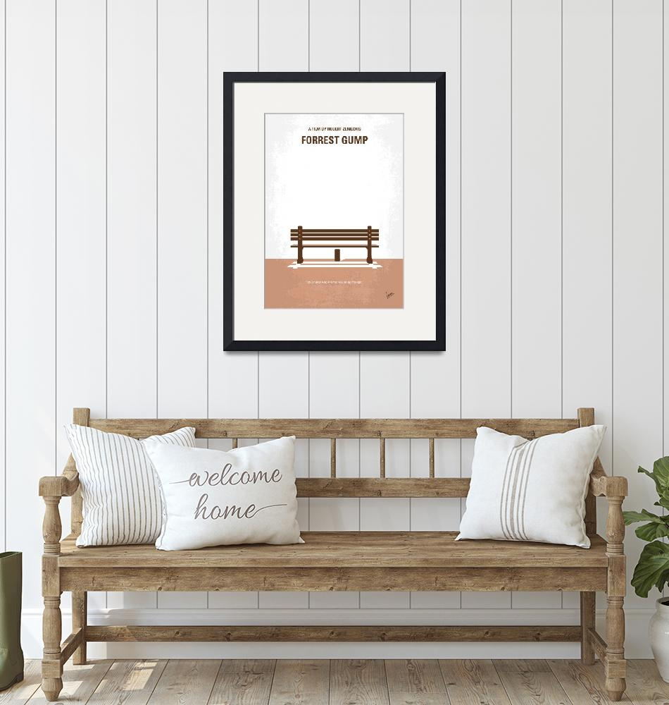 """""""No193 My Forrest Gump minimal movie poster""""  by Chungkong"""