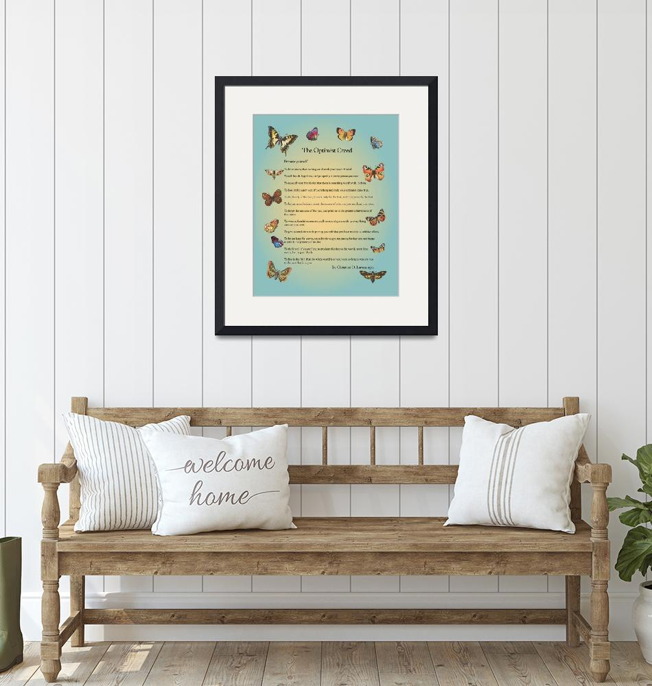 """""""The Optimist Creed""""  (2011) by Happinessinyourlife"""