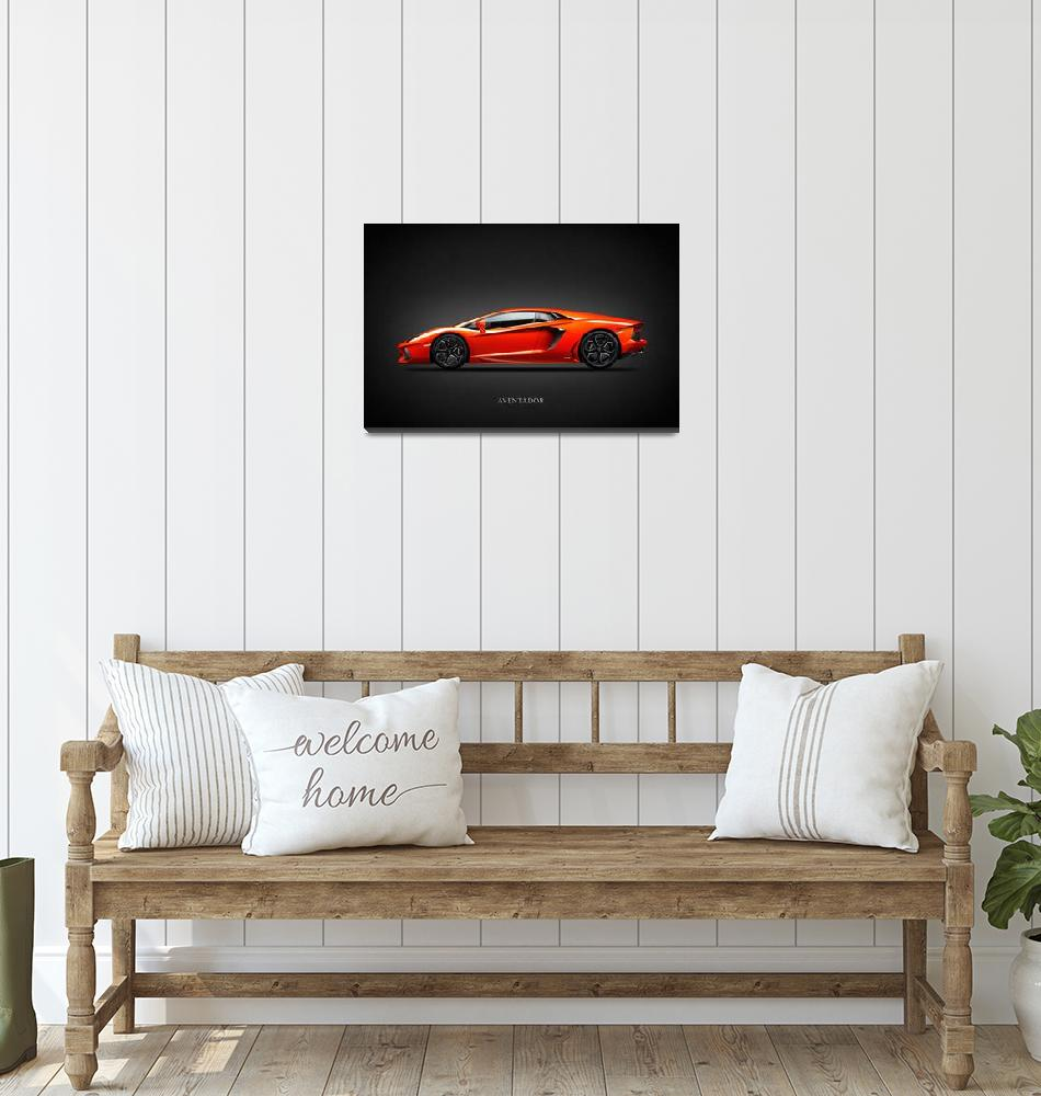"""""""The Aventador""""  (2011) by mark-rogan"""