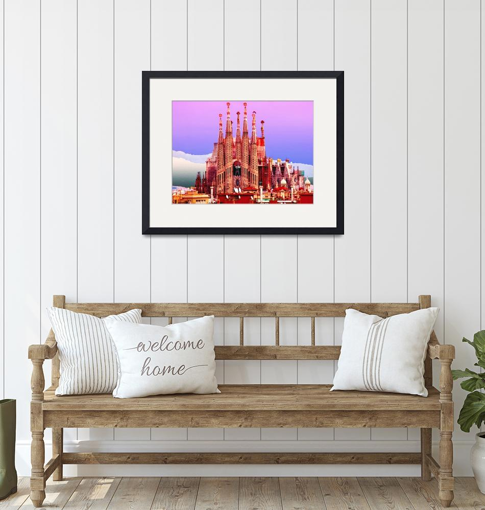"""Sagrada Familia !""  (2011) by amira"