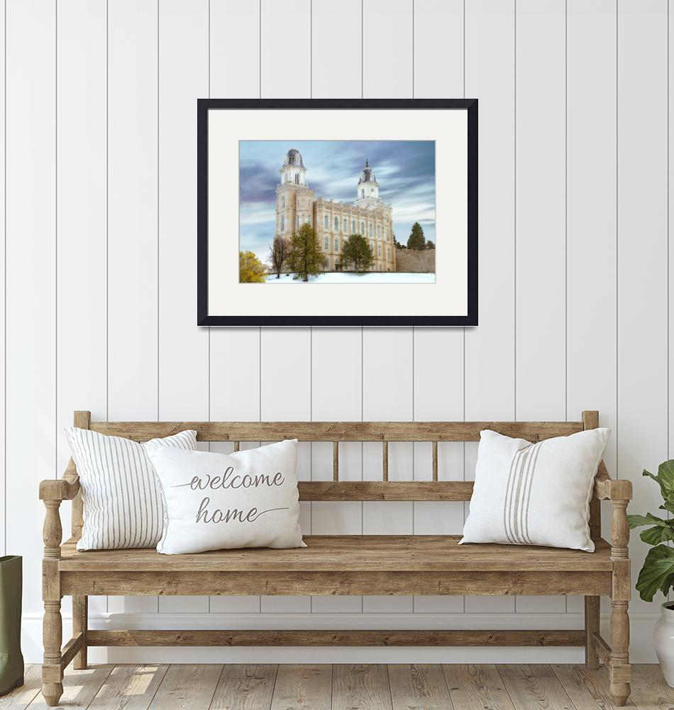 """""""Manti Temple / Winter""""  by TerrySpringer"""