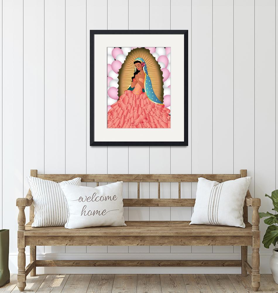 """""""Quinceañera Guadalupe""""  (2014) by Evilkid"""