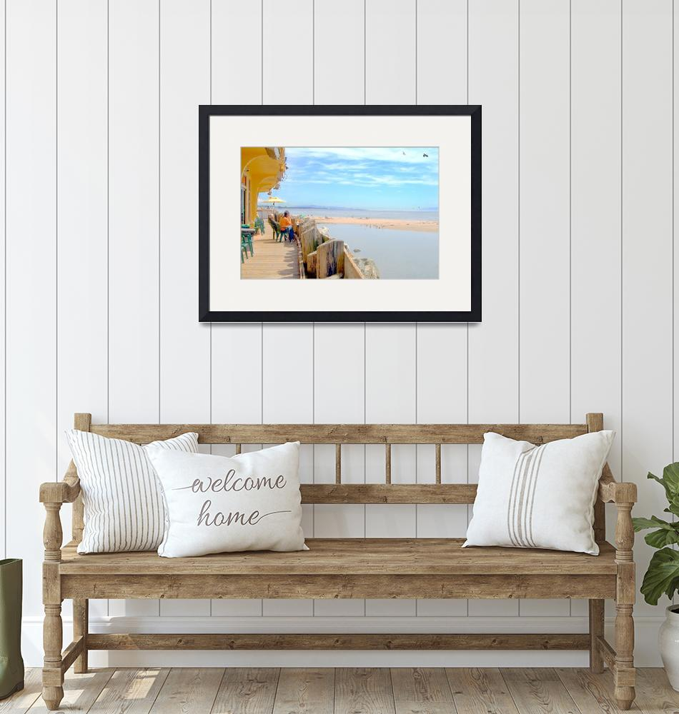 """""""Capitola Lunch Beach Side""""  by chesman"""