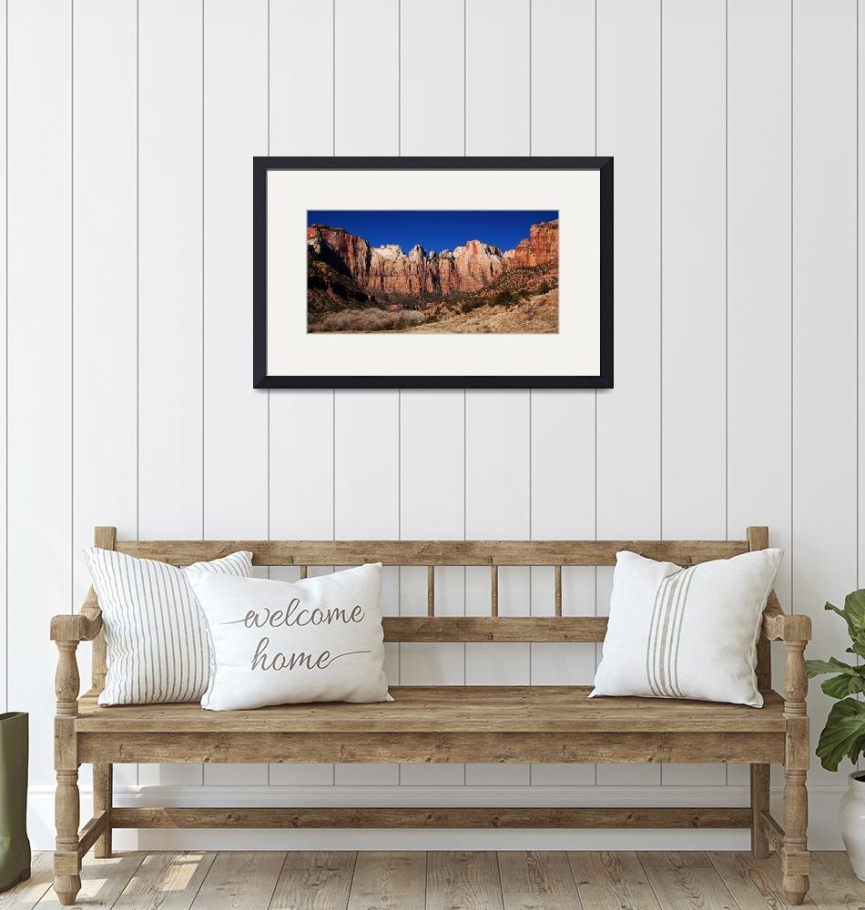 """""""Zion National Park""""  (2008) by yeats"""
