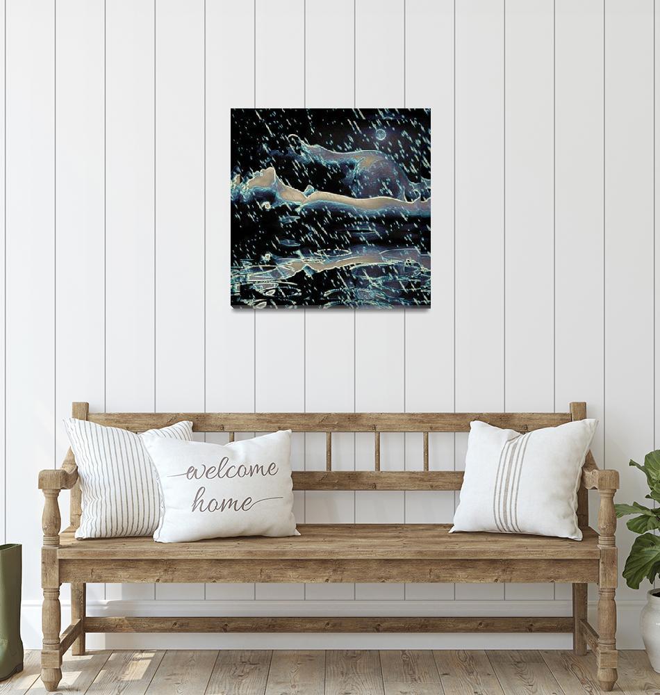 """Wet Dreams""  by artistMichaelTodd"