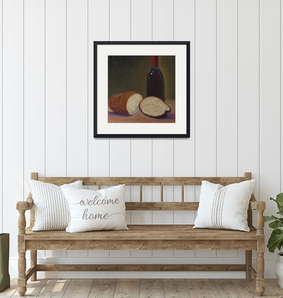 """""""Bread And Wine""""  (2012) by LegacyArts"""