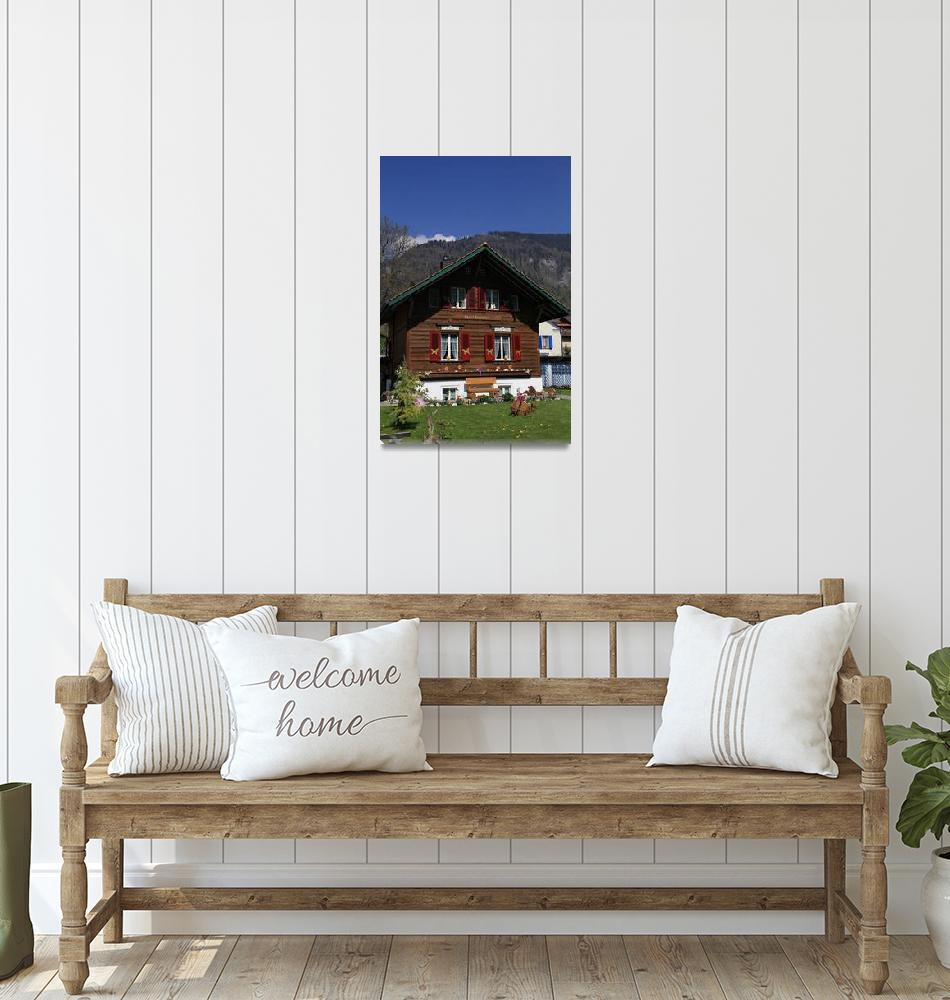 """House in Switzerland""  (2011) by easyfigure"