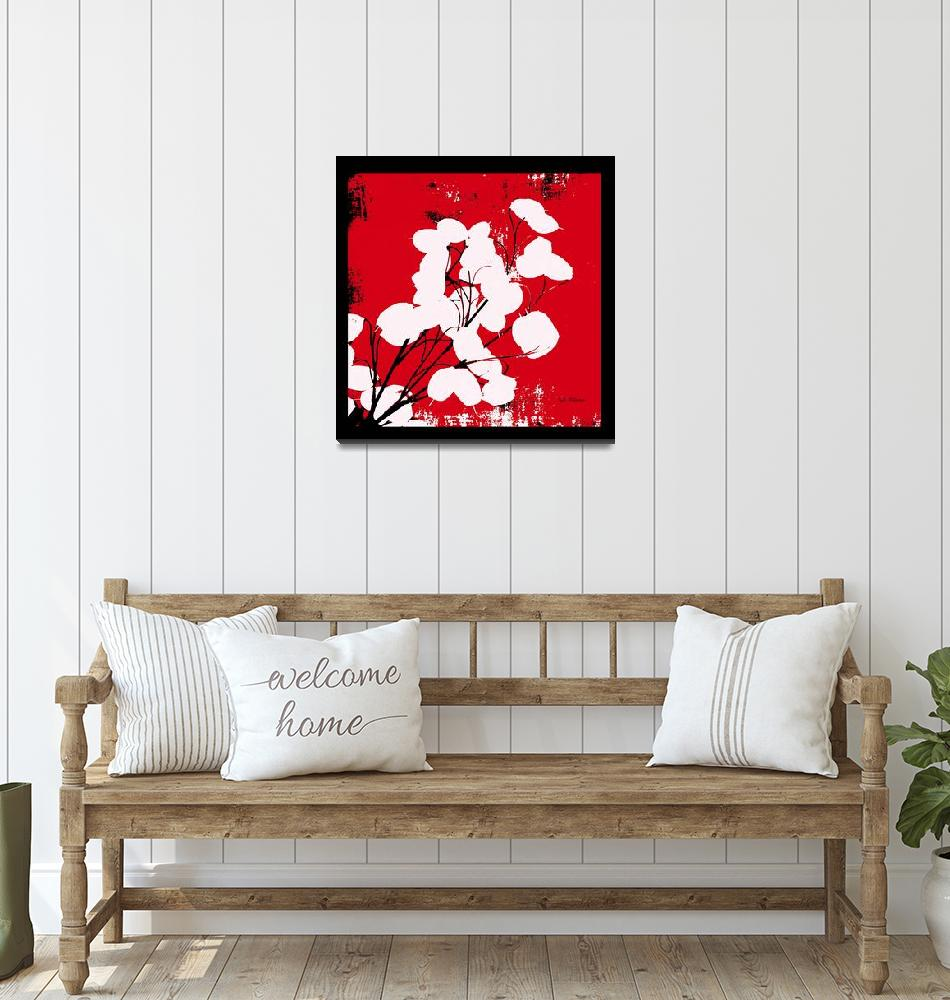 """""""Money Plant Red""""  (2008) by HerbDickinson"""