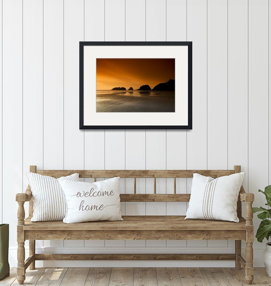 """""""Cannon Beach Sunset""""  by RobTerwilliger"""