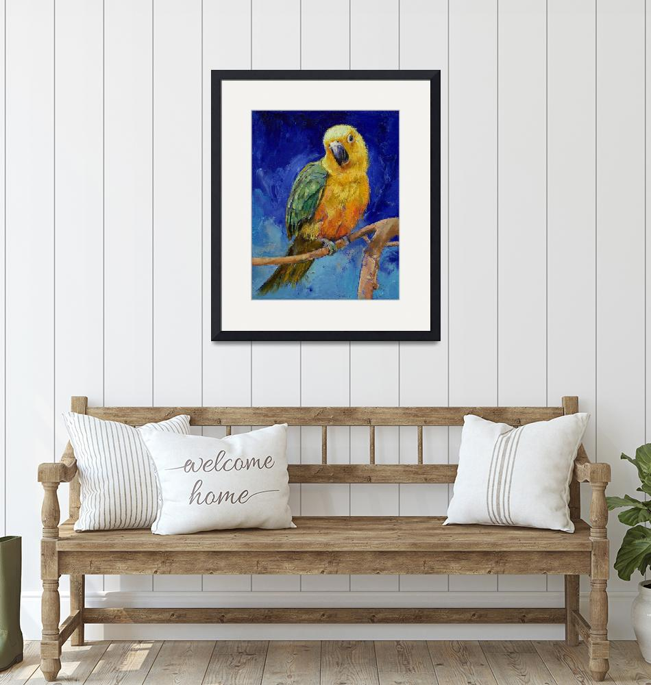 """""""Jenday Conure""""  by creese"""