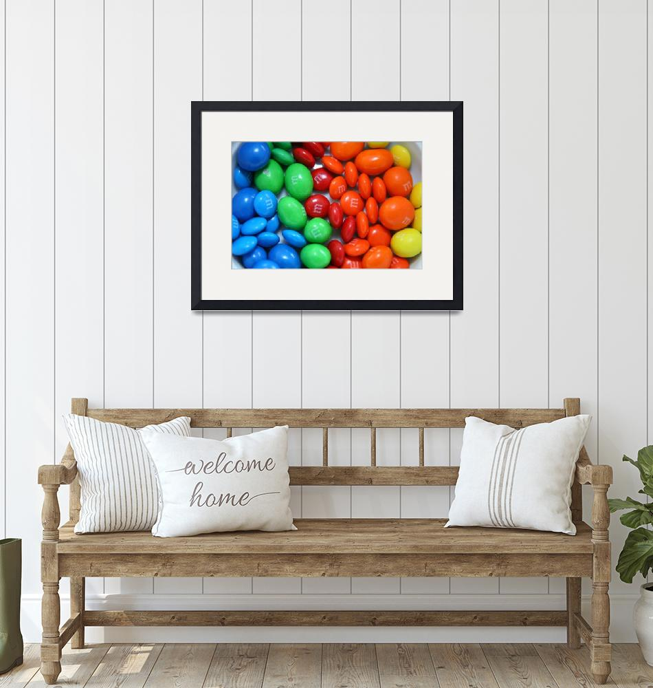"""Rainbow M&Ms""  (2009) by DonnaCorless"