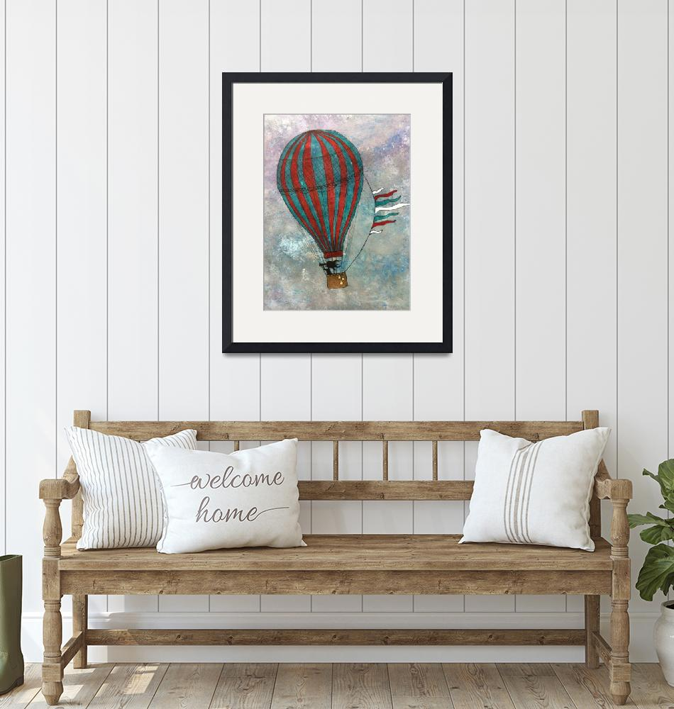 """""""Ballooning""""  (2013) by laceychristiansen"""
