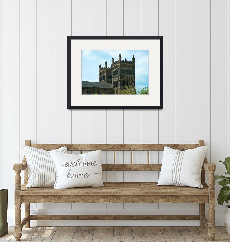 """""""Durham Cathedral""""  (2010) by ChrisBarry"""