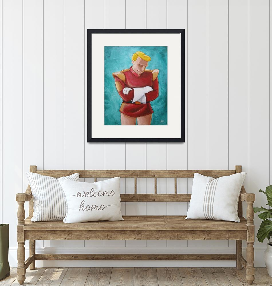 """Contemplative Zapp Brannigan""  (2011) by mousersix"
