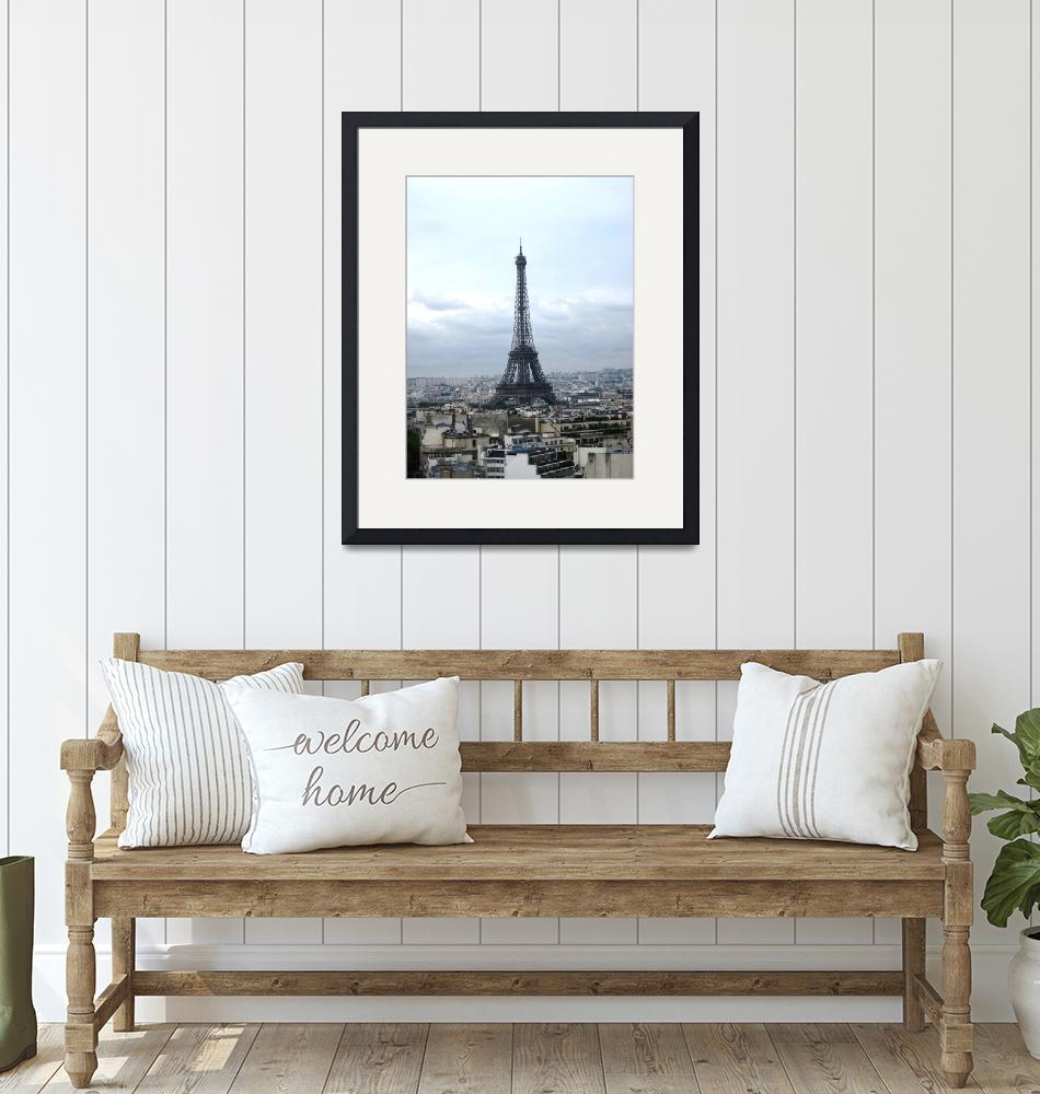 """Eiffel Tower & Paris""  (2011) by greencricketphoto"