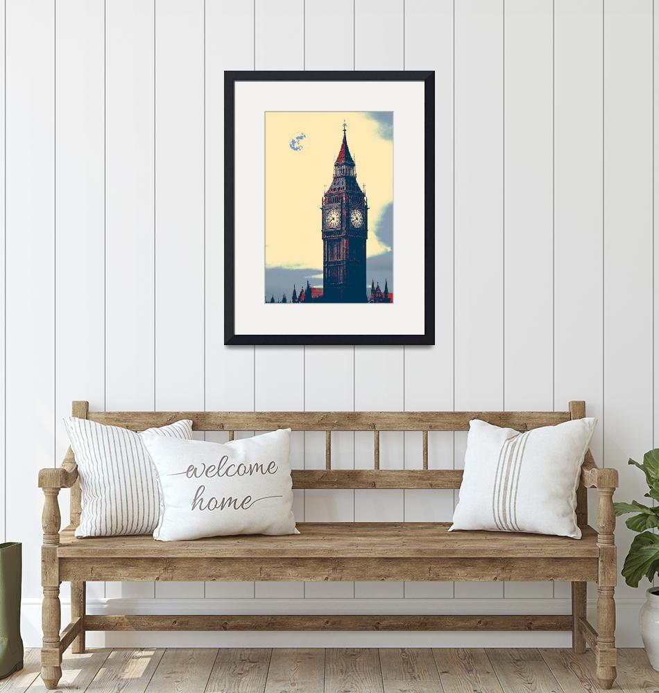 """""""big ben tower 5""""  by motionage"""