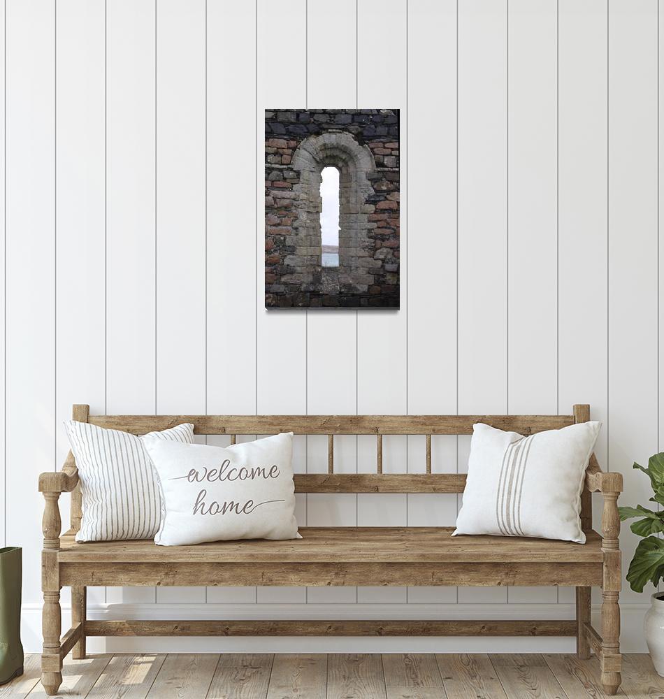 """Iona Convent Ruins 8""  (2010) by StevenHorst"