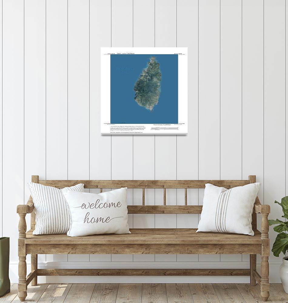 """""""Saint Lucia, Caribbean Sea""""  by davecatts"""