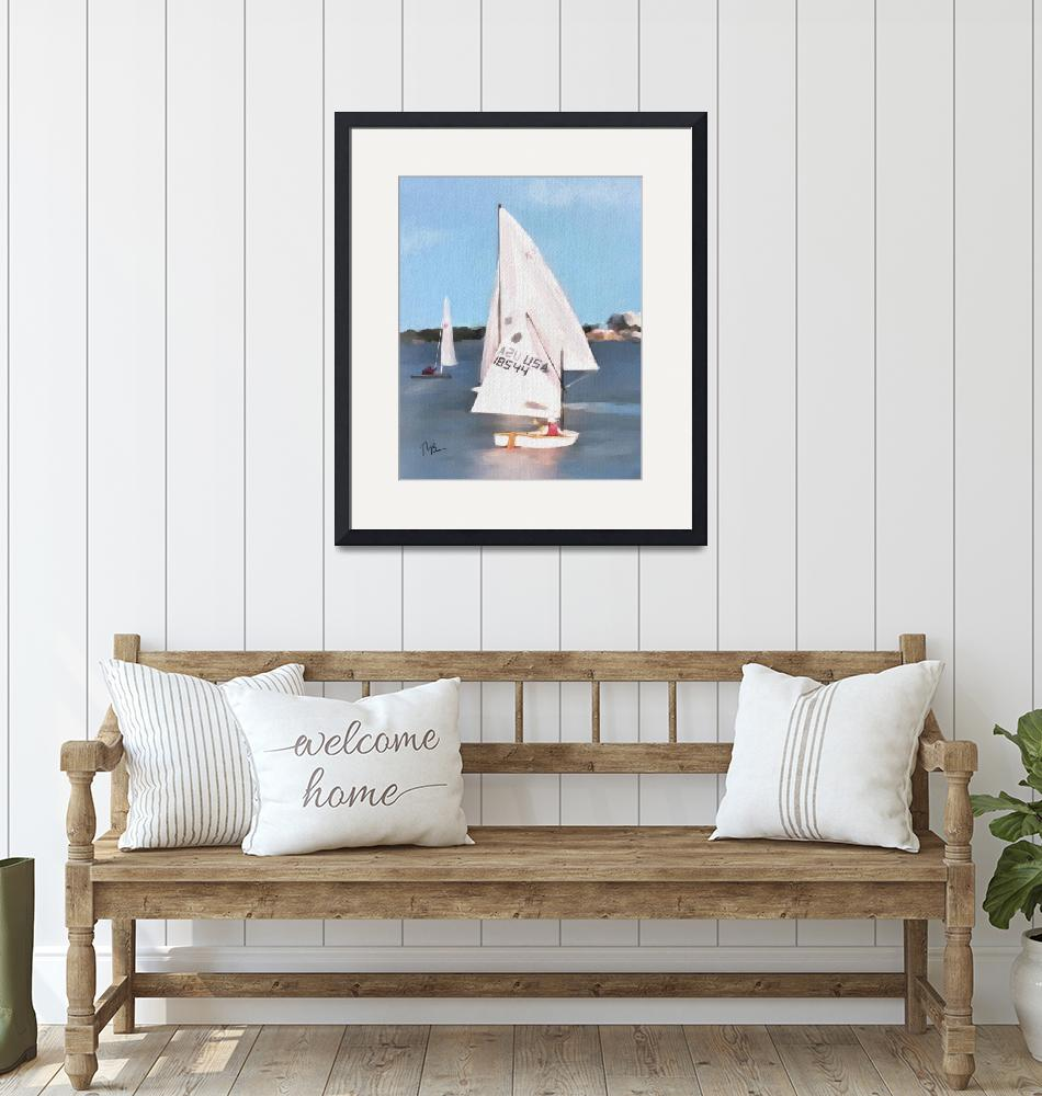 """""""sailing on the indian river""""  (2019) by tammyleebradley"""