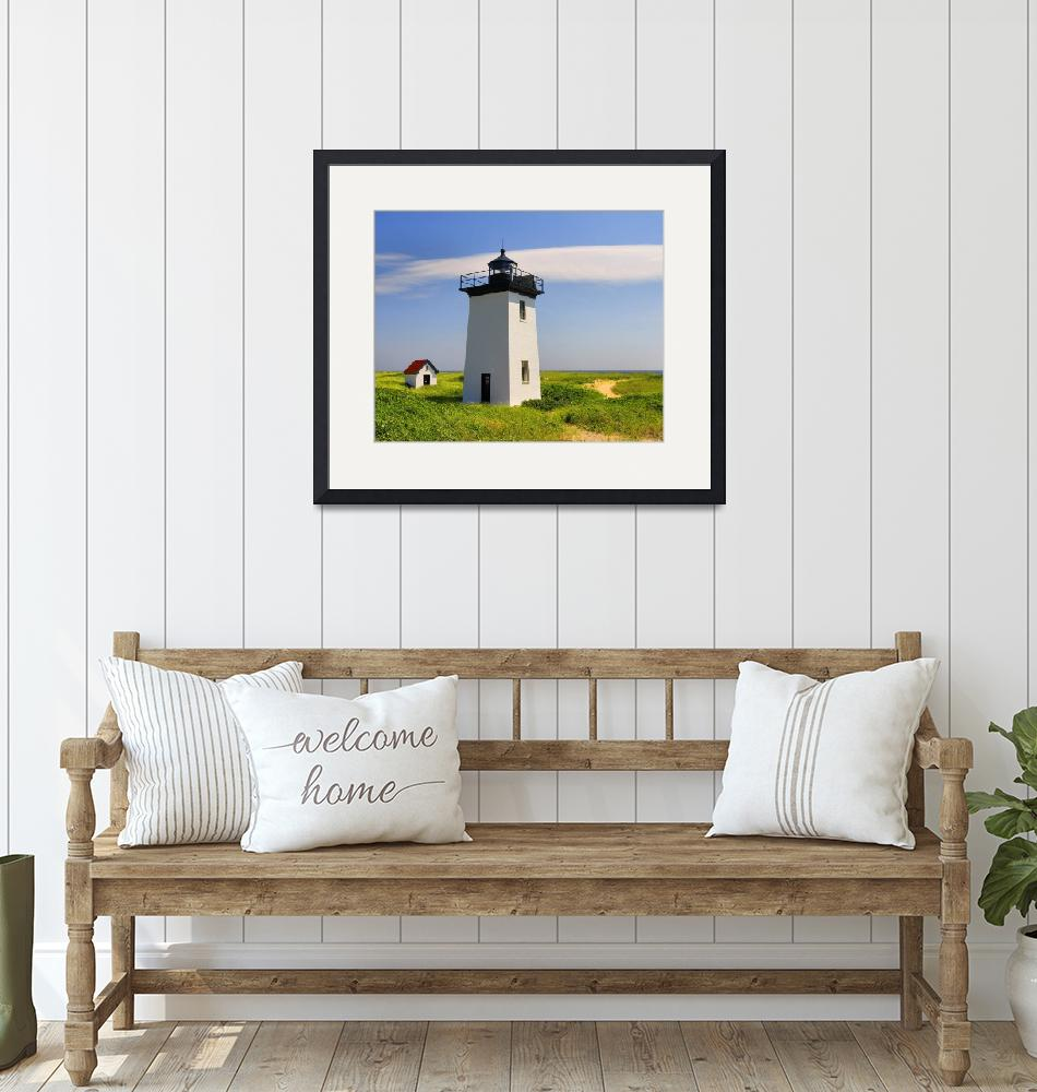 """""""Provincetown - Wood End Lighthouse""""  (2007) by PJPHOTO"""