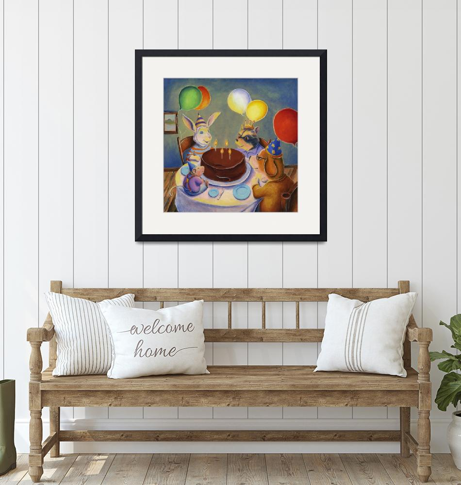"""""""Animal Birthday Party"""" (2014) by MattO68"""
