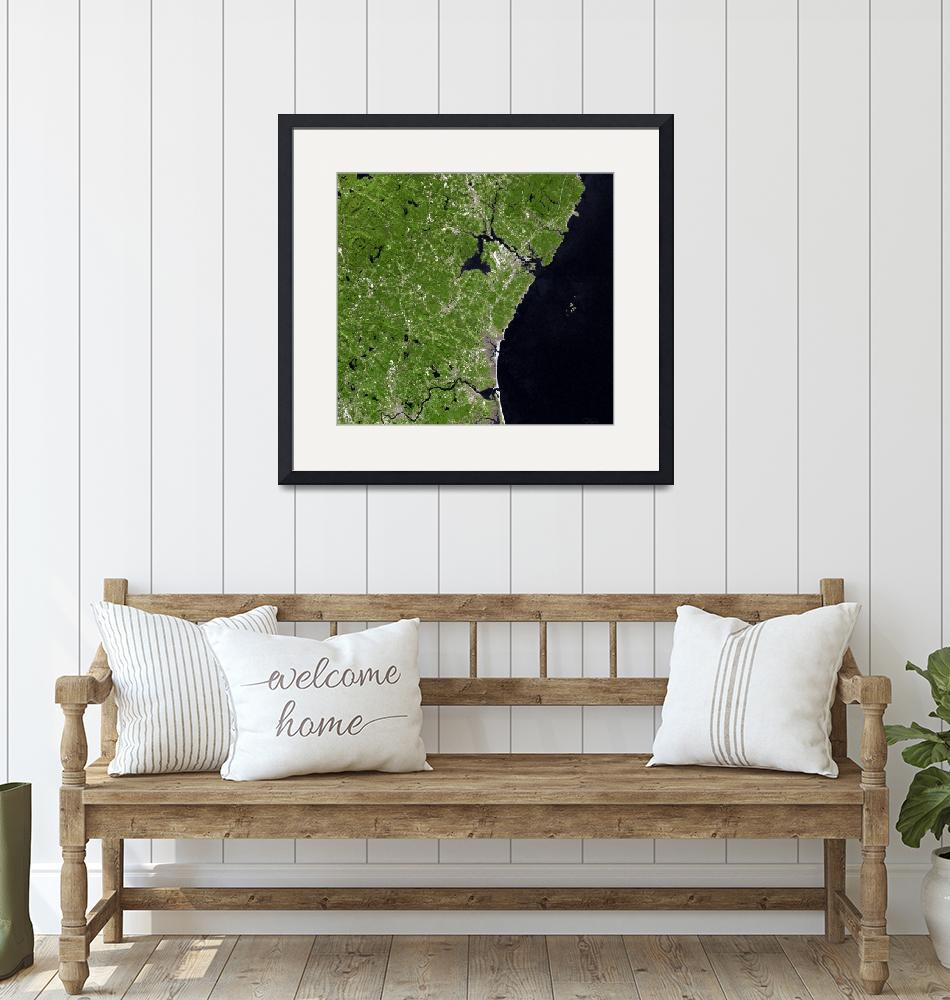 """""""Coastline of New Hampshire"""" by davecatts"""