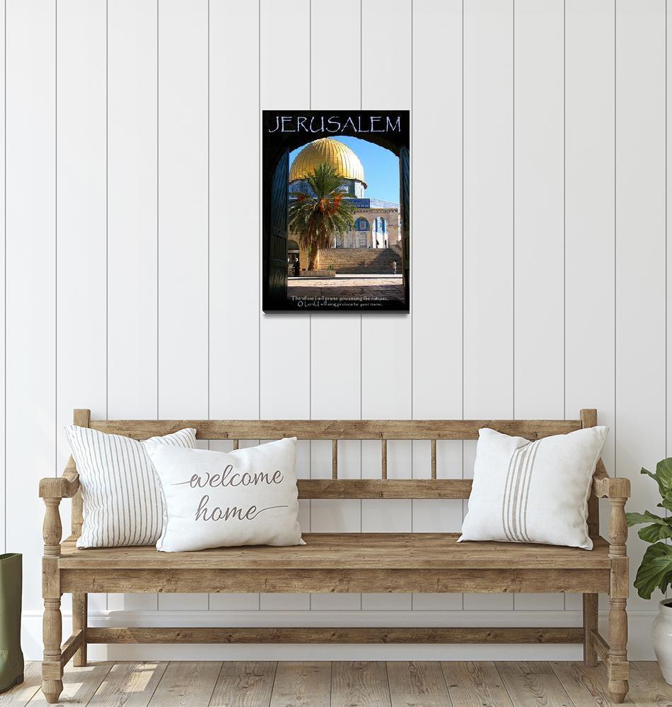 """""""Jerusalem""""  (2011) by nicoindo"""