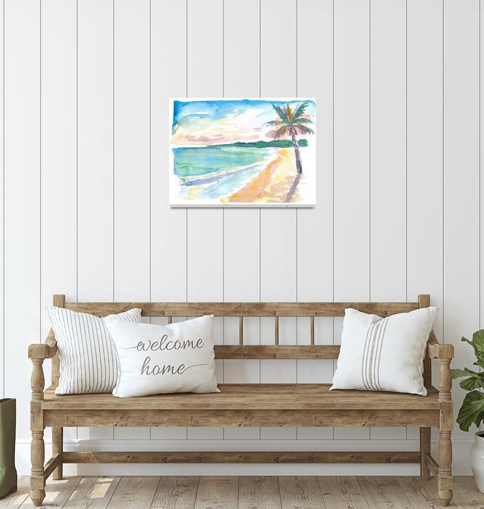 """Grand Anse Beach Caribbean Vibes In Grenada""  (2020) by arthop77"