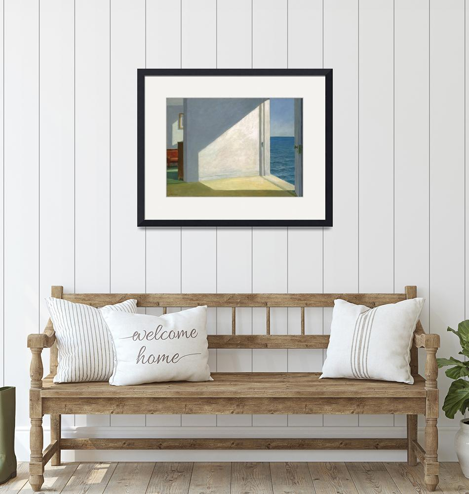 """""""Edward Hopper~Rooms by the Sea""""  by Old_master"""