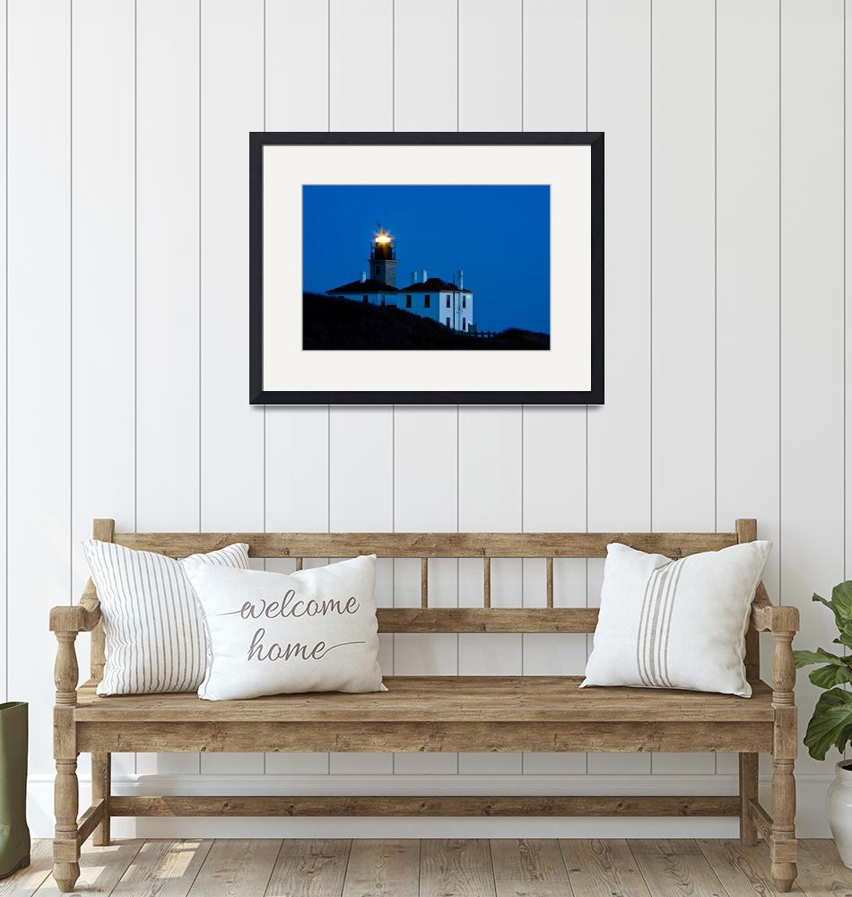 """""""Beaver Tail Lighthouse""""  by gccdesigns"""