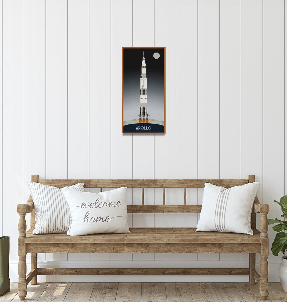 """""""Apollo Launch""""  (2011) by scbb11Sketch"""