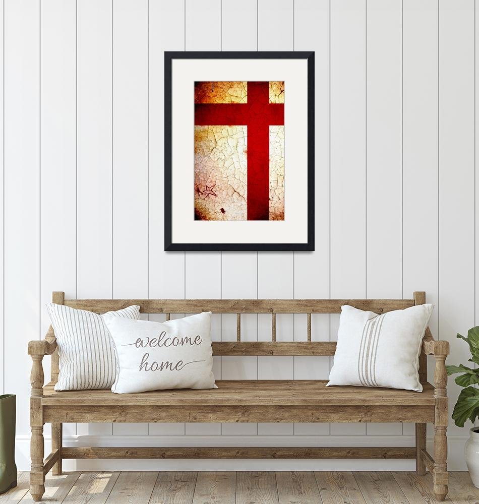 """""""England (World Cup Poster)""""  (2010) by dac101"""
